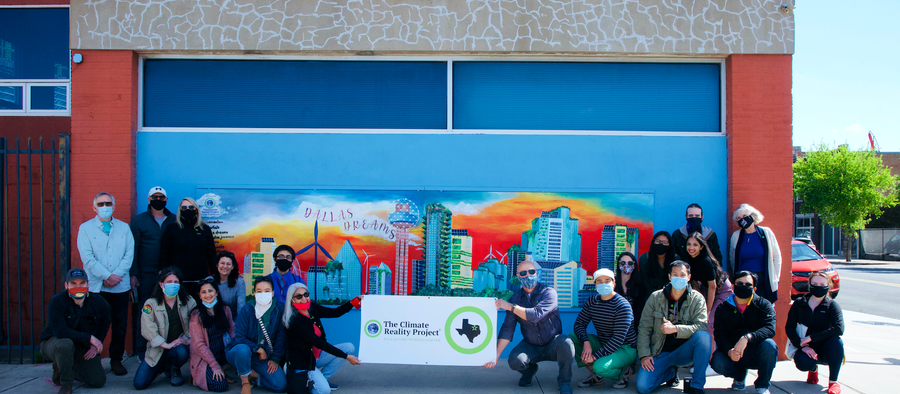 Youth Climate Mural Goes UP