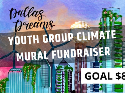 Fundraiser for Climate Youth Mural