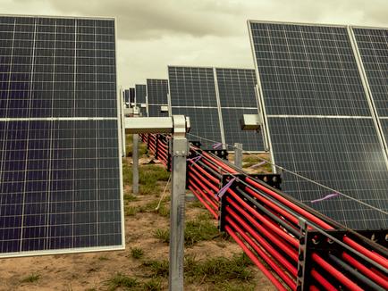 Massive Solar Farm in Texas