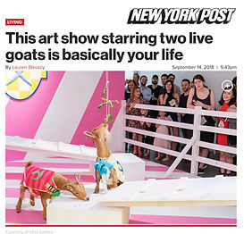 NEW YORK POST TO THE VICTOR BELONGS THE