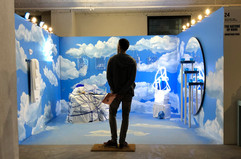 Installation Nature of None Jonathan Paul Spring Break Art Show LA 2020