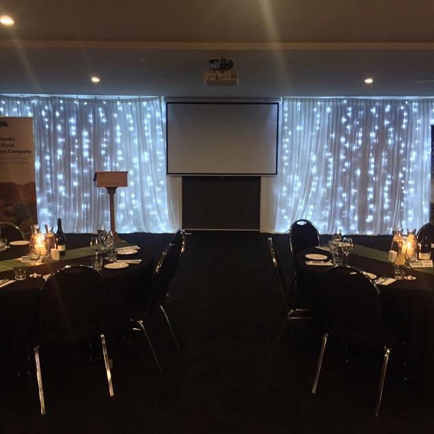 Fairy Light Curtains Awards Setup.JPG