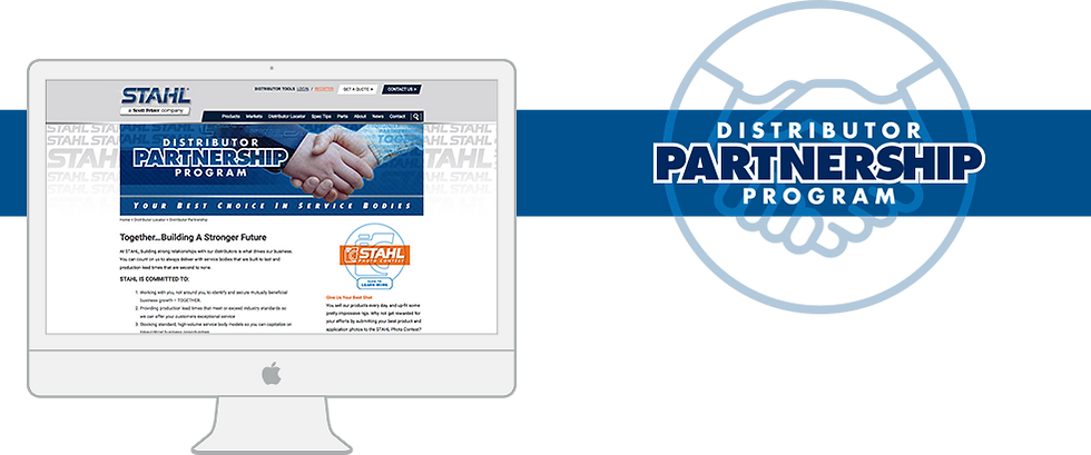 STAHL Distributor Partnership Program