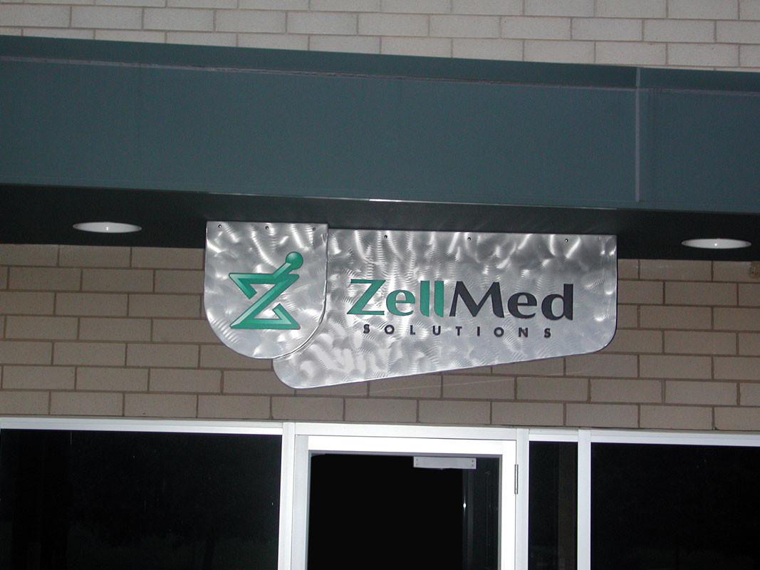ZellMed Building Signage