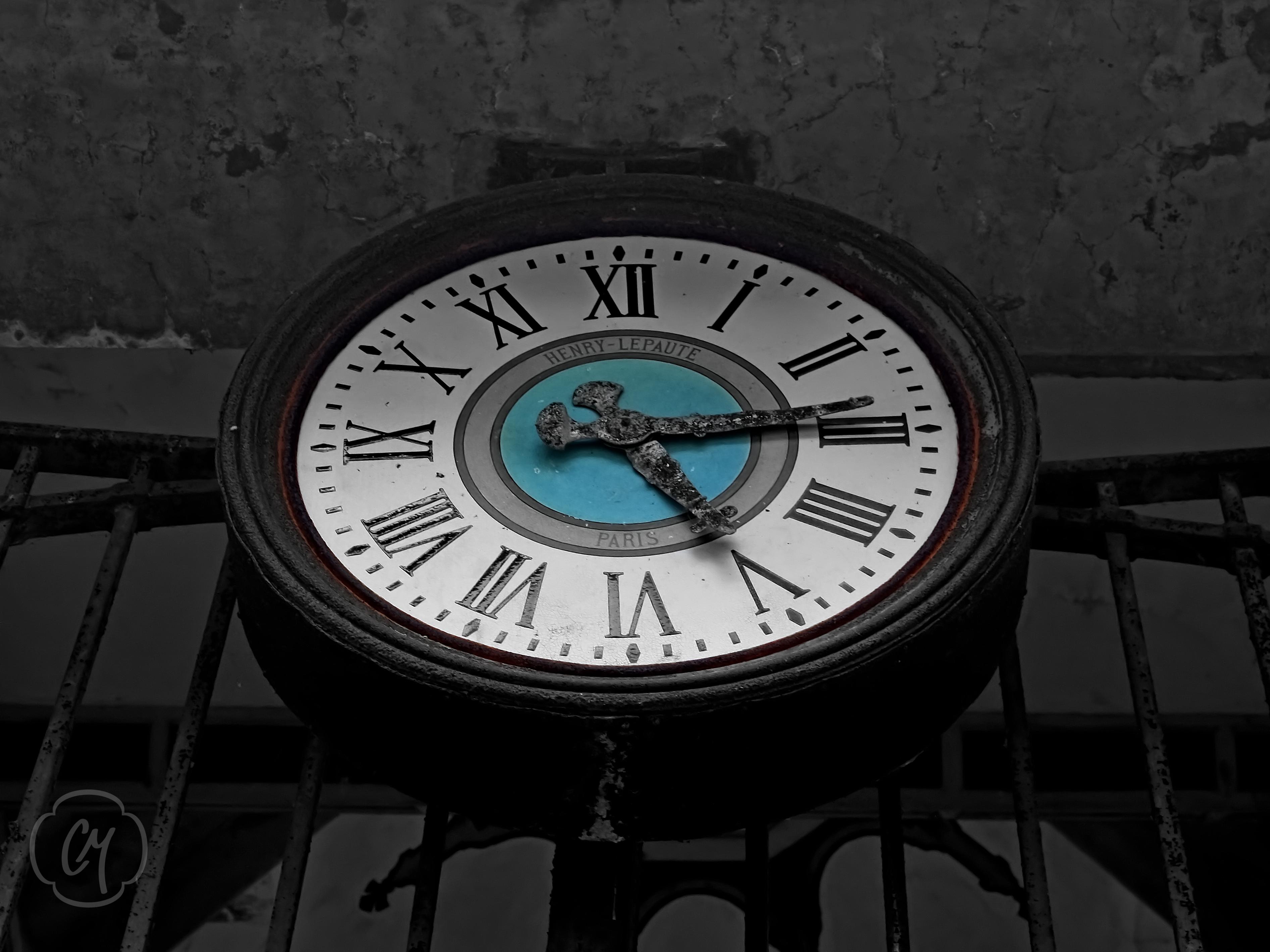 Le temps s'est arrêté