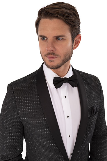 Austin Slim Fit Diamond Weave#158