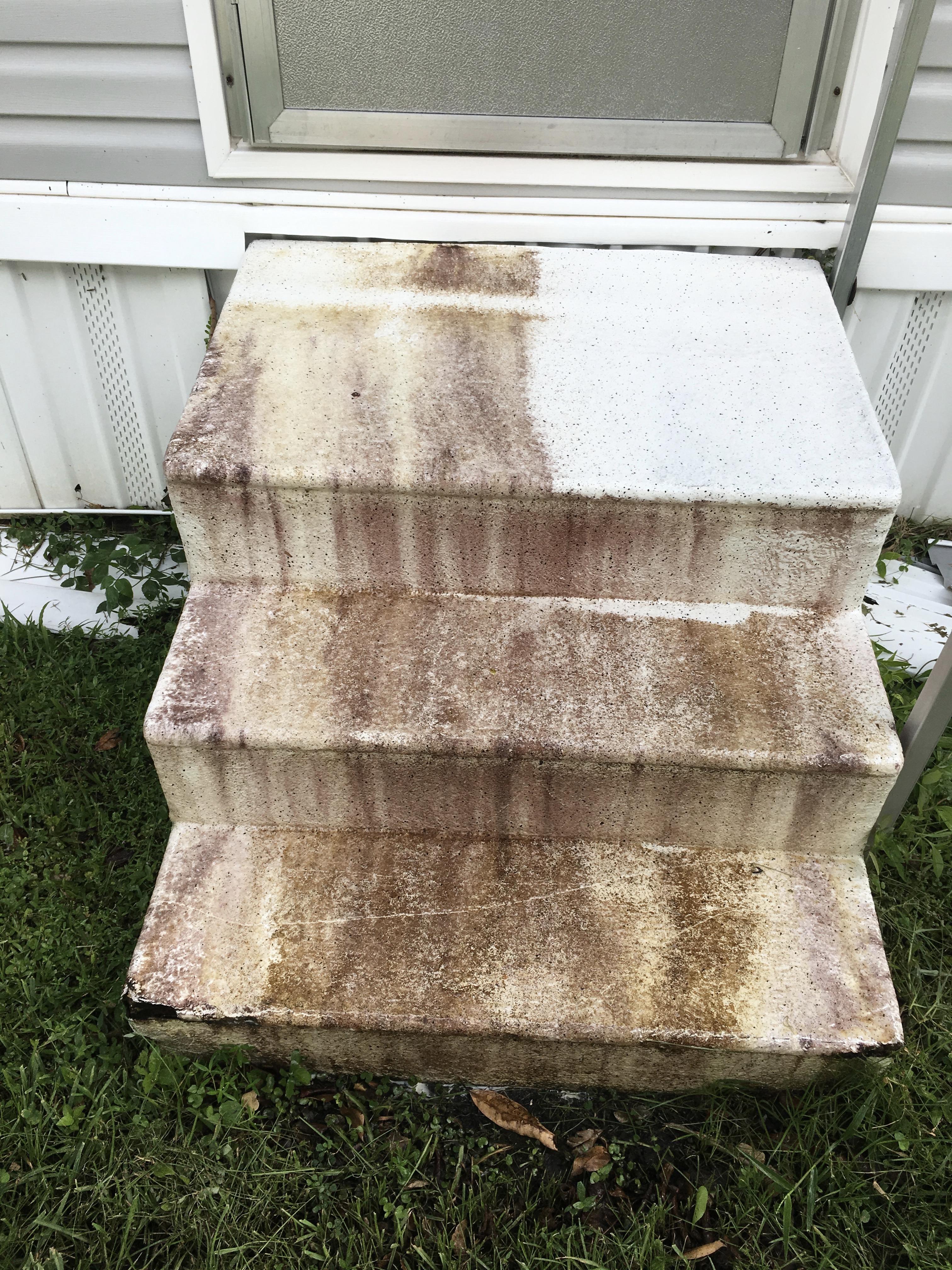 Concrete Front Steps