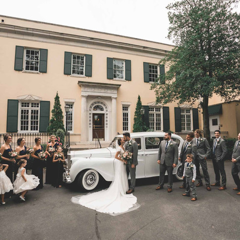 The Mansion at Oyster Bay Wedding