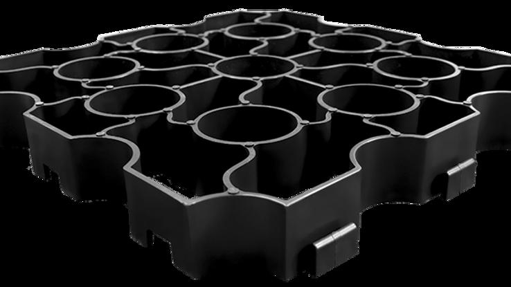 X-grid Black (50 Sqm)
