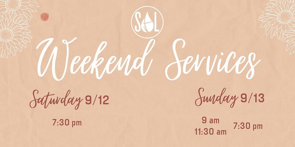 Sunday Evening Service 7:30pm