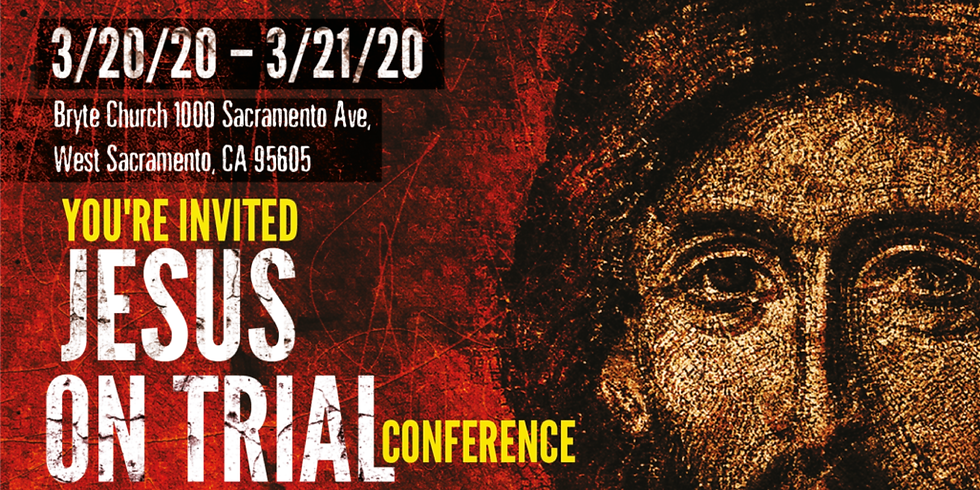 Jesus on Trial Conference