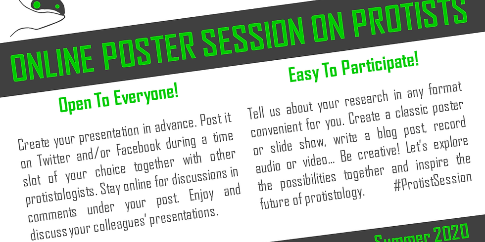 Online Poster Session on Protists