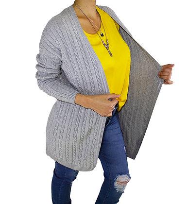 Saco lana Tejido