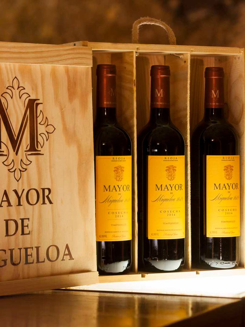 Vinos Línea Clásica Mayor de Migueloa