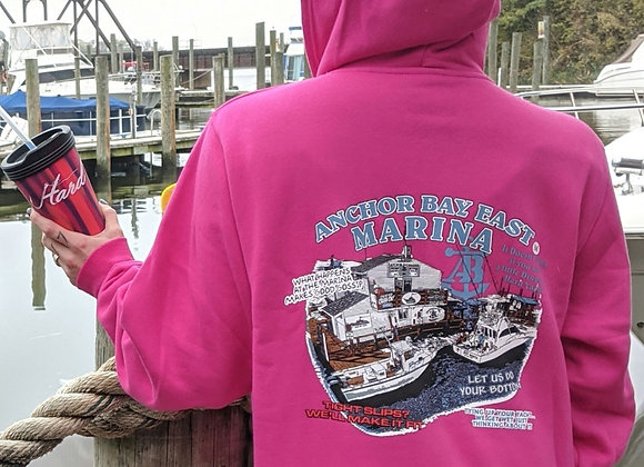 """""""What Happens at the Marina"""" Hoodie"""