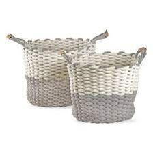 Chunky Knit Basket Set