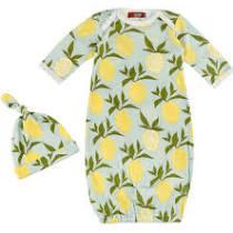 Lemon Gown and Hat Set