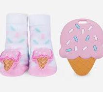 Rattle Socks and Teether Set