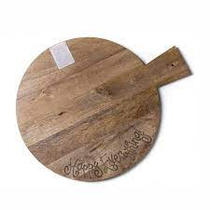 Happy Everything Wood Serving Board Big