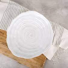 Etta B Pottery Large Swirl Platter