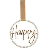 Happy Door Hanger