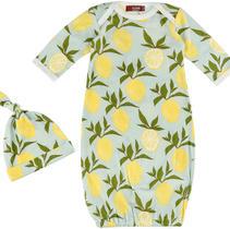 Lemon Gown Set