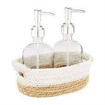 Soap Pump Basket Set