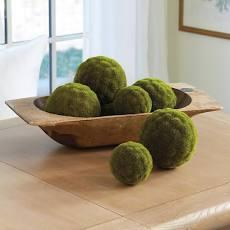 Faux Moss Balls