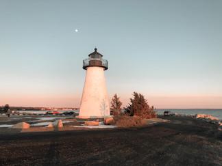 """Mattapoisett Lighthouse"" Digital Photography, 2020"