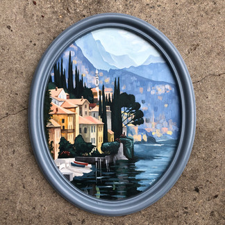 """""""Untitled"""" Acrylic Paint, 2019"""