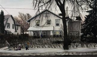 """Home"", Watercolor, 2021"