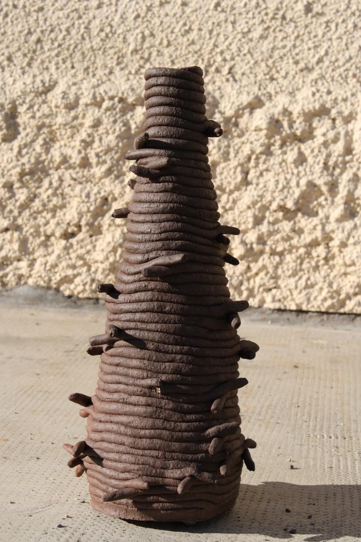 Vase Barbelé en colombin