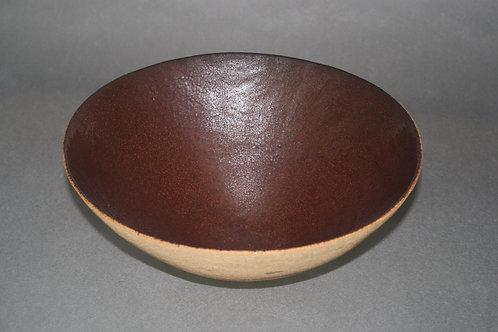 Light stoneware salad bowl 8