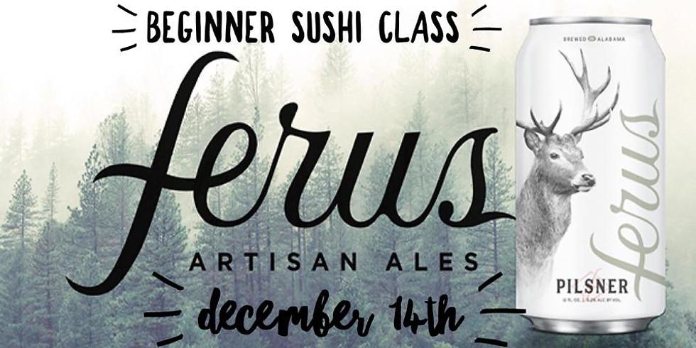 Trussville Beginners Sushi Class! At Ferus