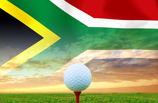 Golfing in South Africa