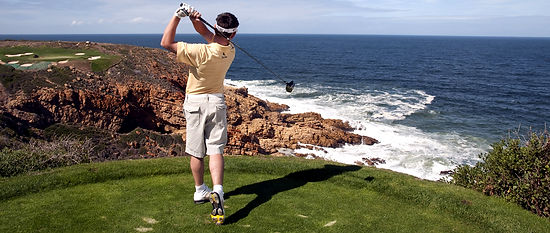 South Africa golfing