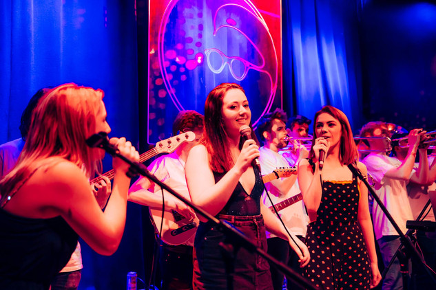 Girls sing a tune.jpg