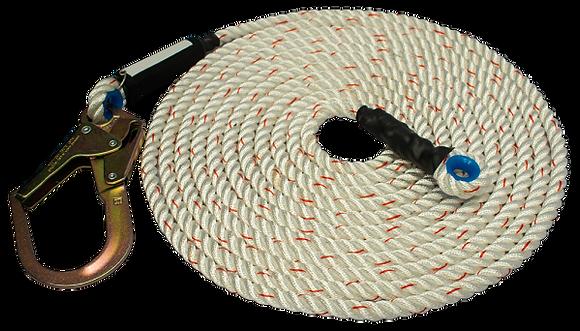 LINEA DE VIDA EN CUERDA DE 16 mm EPPLINE