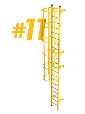 escaleras tipo gato frp