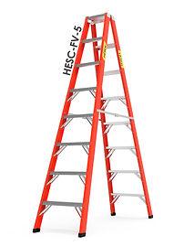 escaleras tijeras dobles frp