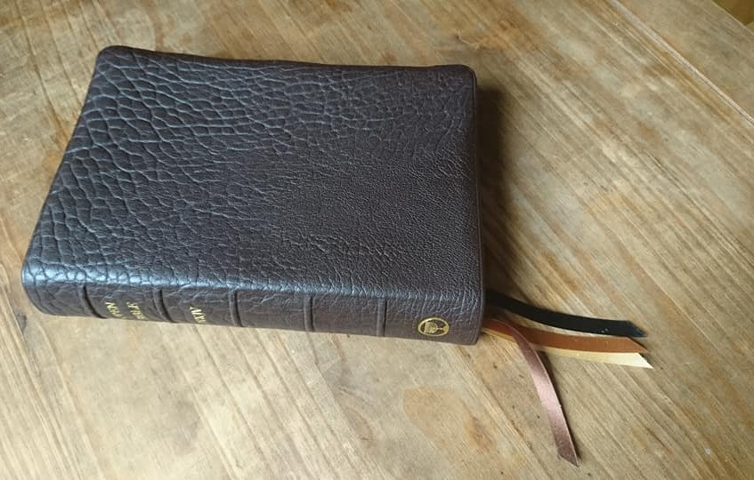 NKJV OpenBible Brown Goatskin