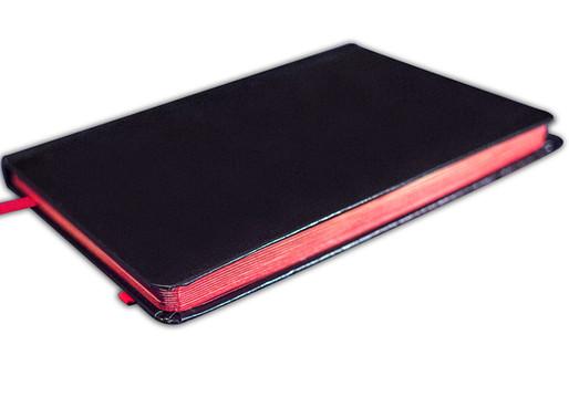 Red Art-gilt Journal