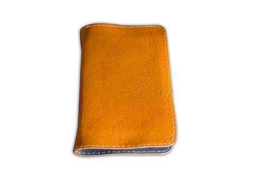 Leather-lined Goatskin Journal