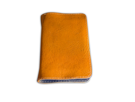 Leather-lined Goatskin Journal