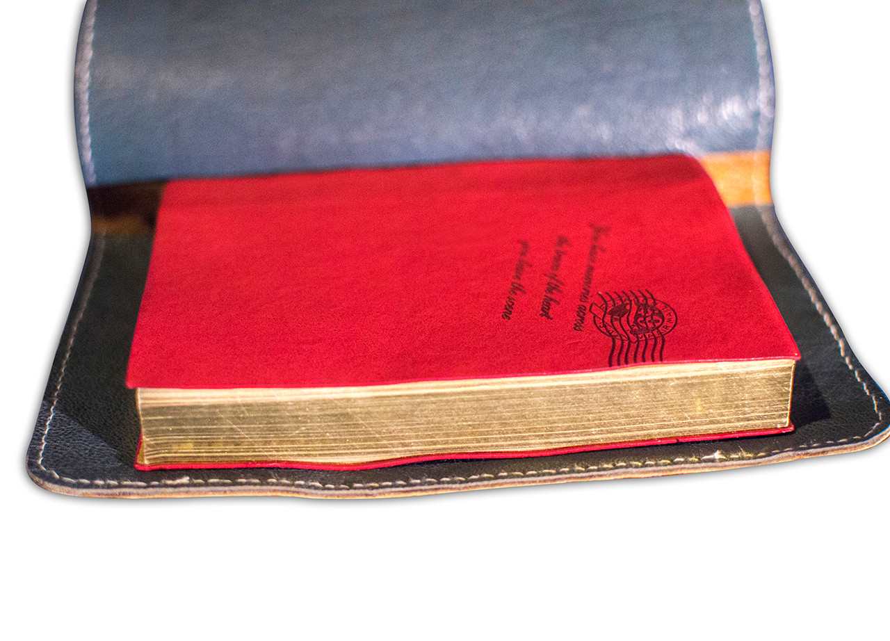 Journal Leather-lined Cover