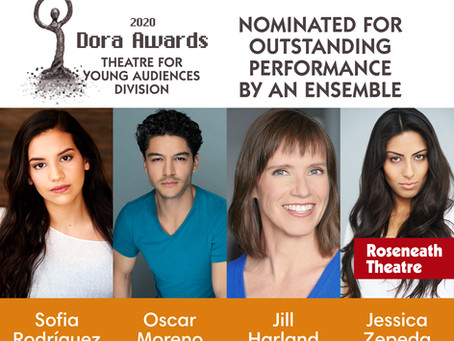 Roseneath Theatre Celebrates 3 2020 Dora Nominations