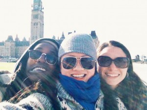 On The Road ('In This World') – Ottawa in under 24 hours!
