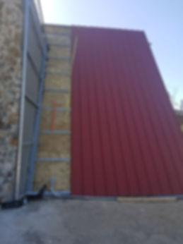 Construcion techos de galvalum