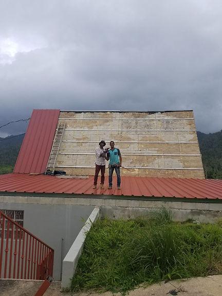 Instalar techos de galvalum