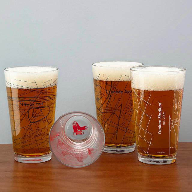 MLB Baseball Park Beer Pints